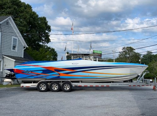 USED – 37′ Outerlimits Stiletto